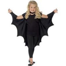 Fekete denevér szárny gyerekeknek
