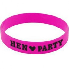 Hen Party Pink Gum Bracelet - 6 pcs