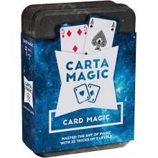 Carta magic kártyatrükkök bűvészdoboz 25 trükk