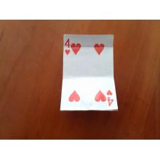 Kártyából Gyufa + Houdini érme