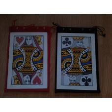 Monte kártya zsákkal - helyet cserélő kártyalapok