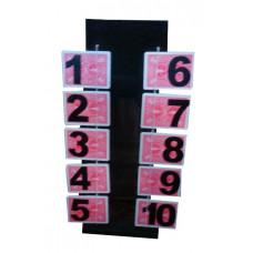 Card Menatl Table
