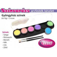 arcfesték szett színvarázs gyöngyház színek